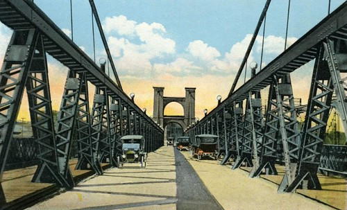 bridge river texas waco postcard bridges vintagepostcard suspensionbridge 200312 bridging roebling nationalregisterofhistoricplaces brazosriver wacosuspensionbridge nrhp bridgepixing johnaroebling bridgepix bridgeblog bridgephoto bridgepicture texasbridges texasescapes mclennancounty 70000850