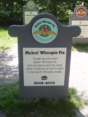 Ben and Jerry's flavor graveyard: whoopie pie?!?
