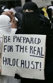 Be prepared for the real holocaust