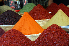 red, spice mix, food,