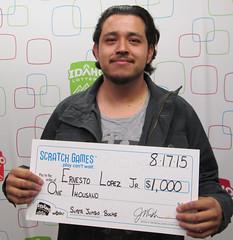 Ernesto Lopez - $1,000 Super Jumbo Bucks