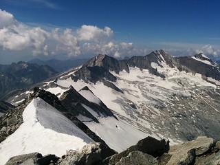 Ausblick vom Gipfel des Großen Möseler