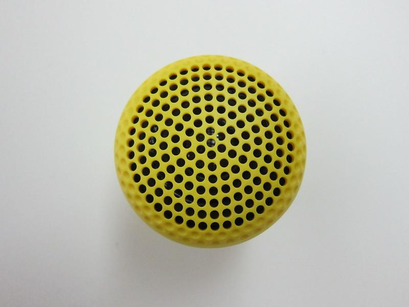 GoGear Splash n Dash Bluetooth Speaker - Top