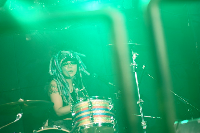 Coal Tar Moon live at Outbreak, Tokyo, 19 Aug 2015. 322C