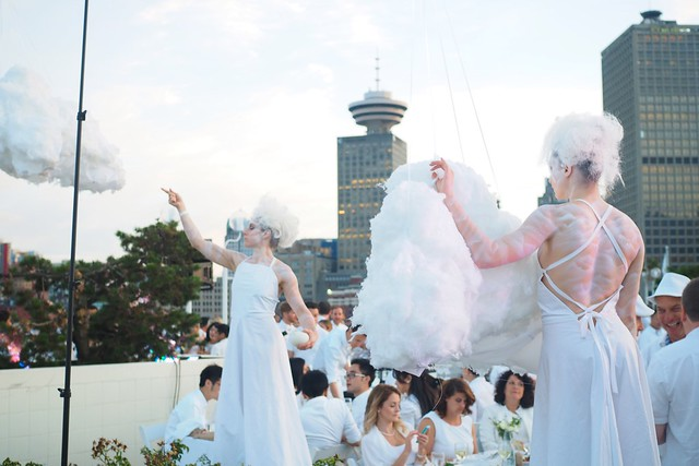 Dîner en Blanc Vancouver 2015 | Canada Place