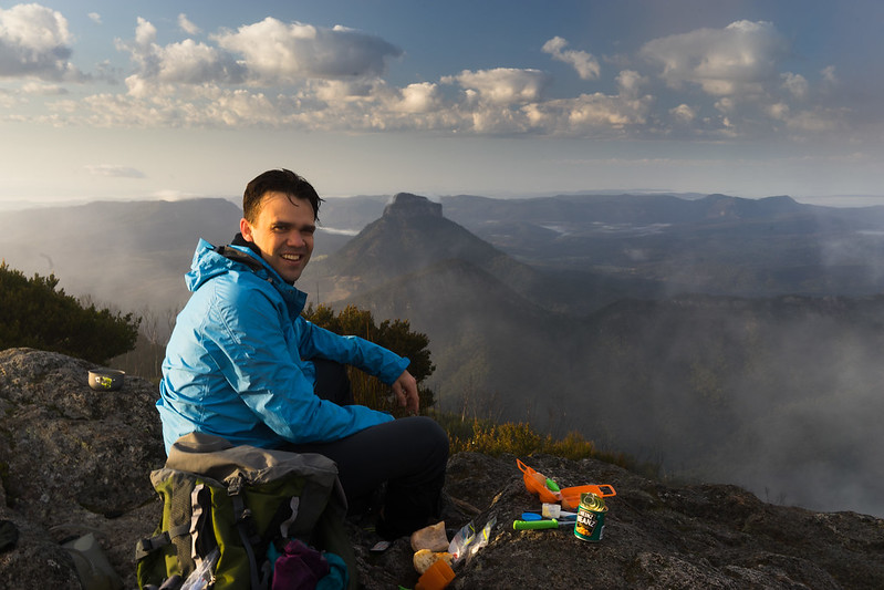 v - Mount Barney