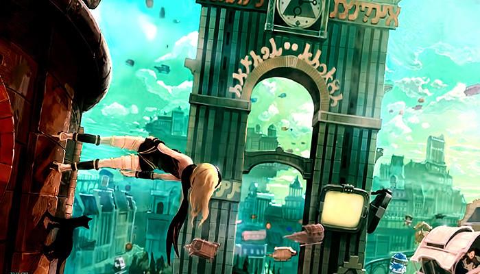 Gravity Rush - Sony anúncia que a franquia ganhará anime