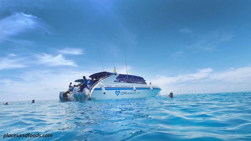 tachai island love andaman cruise