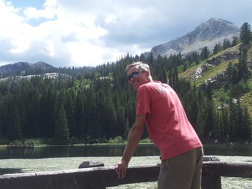 Rudi at Silver Lake, Utah