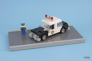 Chef Wiggum's Police Car
