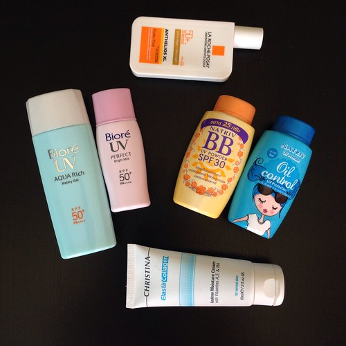 Vacation skin care set