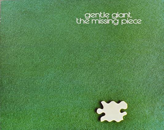 """GENTLE GIANT Missing Piece UK PrESSinG 12"""" LP VINYL"""