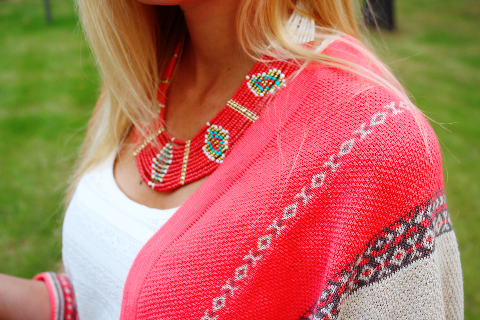 aztec-print-necklace-cardigan