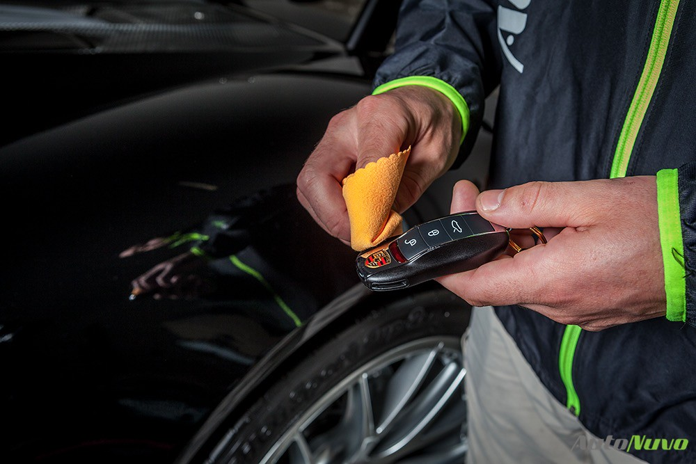 Porsche 918 Spyder Project Ceramic Coating Installation