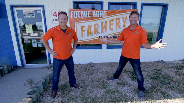 Chris & Lawrence/Farmery Estate Brewery