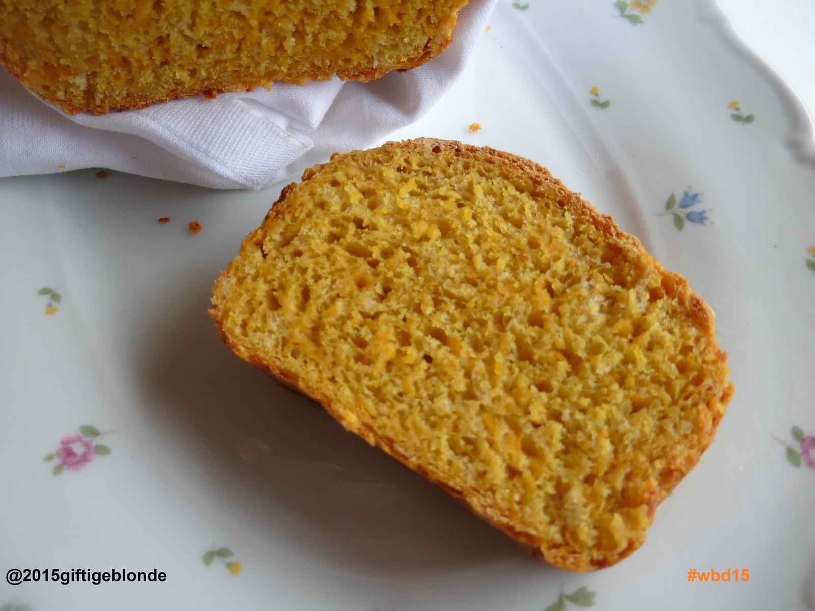 Kürbis-Quitten Brot