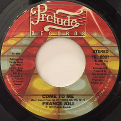 FRANCE JOLI:COME TO ME(LABEL SIDE-A)