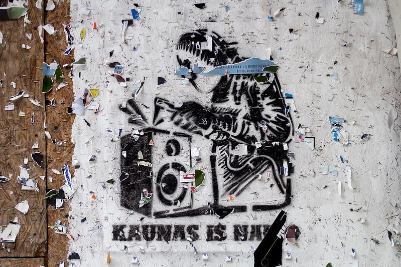 Banksy, Kowno #2 - Kaunas, Lithuania