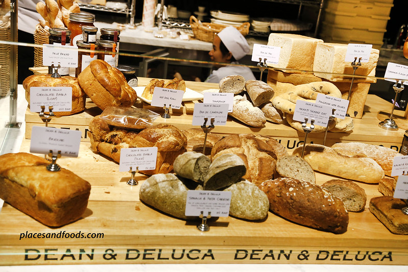 dean and deluca MahaNakhon bangkok bread