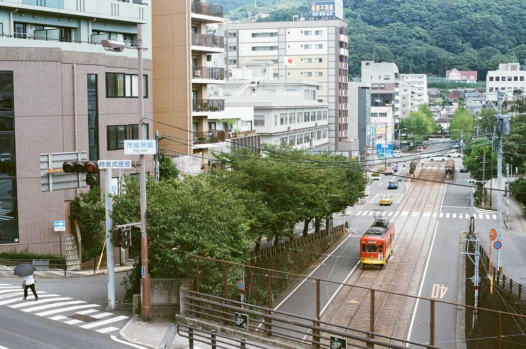 長崎市役所 桜町 長崎 Nagasaki 2015/09/08 長崎市役所  Nikon FM2 Nikon AI Nikkor 50mm f/1.4S Kodak UltraMax ISO400 Photo by Toomore
