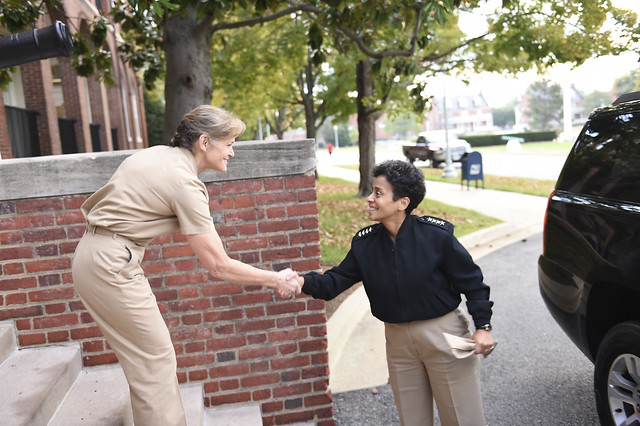 U.S. Navy Vice Chief of Naval Operation, Admiral Michelle Howard Visits the IADC