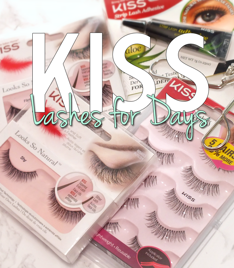Kiss flase lashes and glue