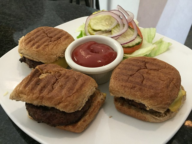 Angus sliders - Affinity Restaurant & Bar