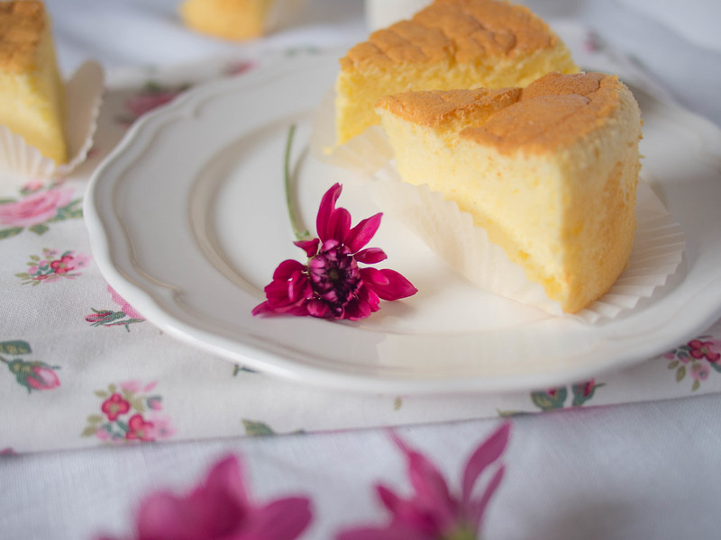 Fluffy condensed milk cheesecake