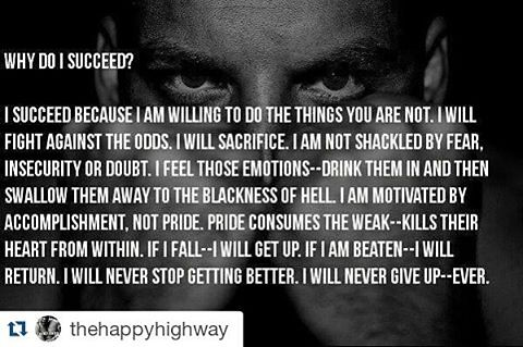 #Repost @thehappyhighway with @repostapp ・・・ #honesty #champions #success #attitude #fitness #inspiration #health #workout #love #happy #amazing #quote #quotes  #quoteoftheday #qotd #lifequotes #motivationalquotes #inspirationalquotes #wisdom #wordsofwisd