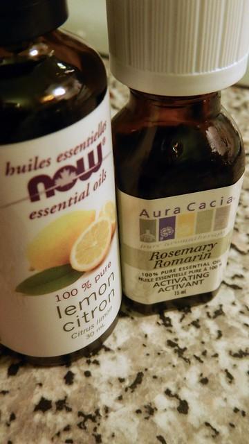 Rosemary Lemon Candle 4