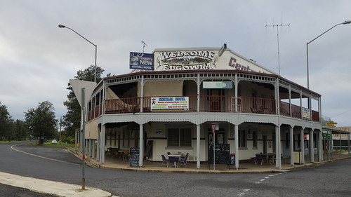 The Central Hotel - Eugowra, NSW.