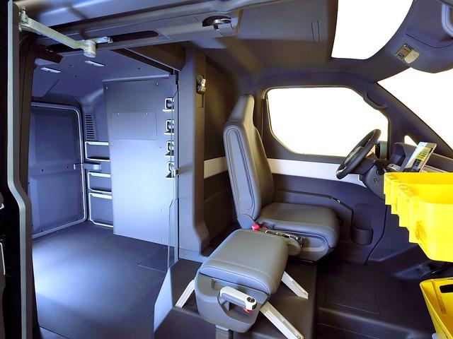 Салон Volkswagen eT! Concept. 2011 год