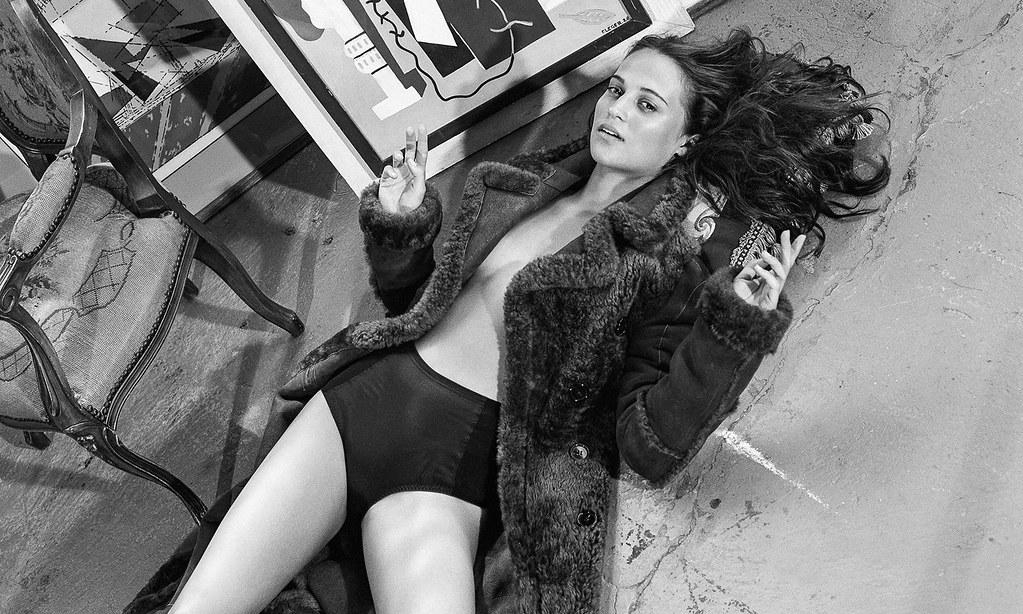 Алисия Викандер — Фотосессия для «DuJour» 2015 – 1