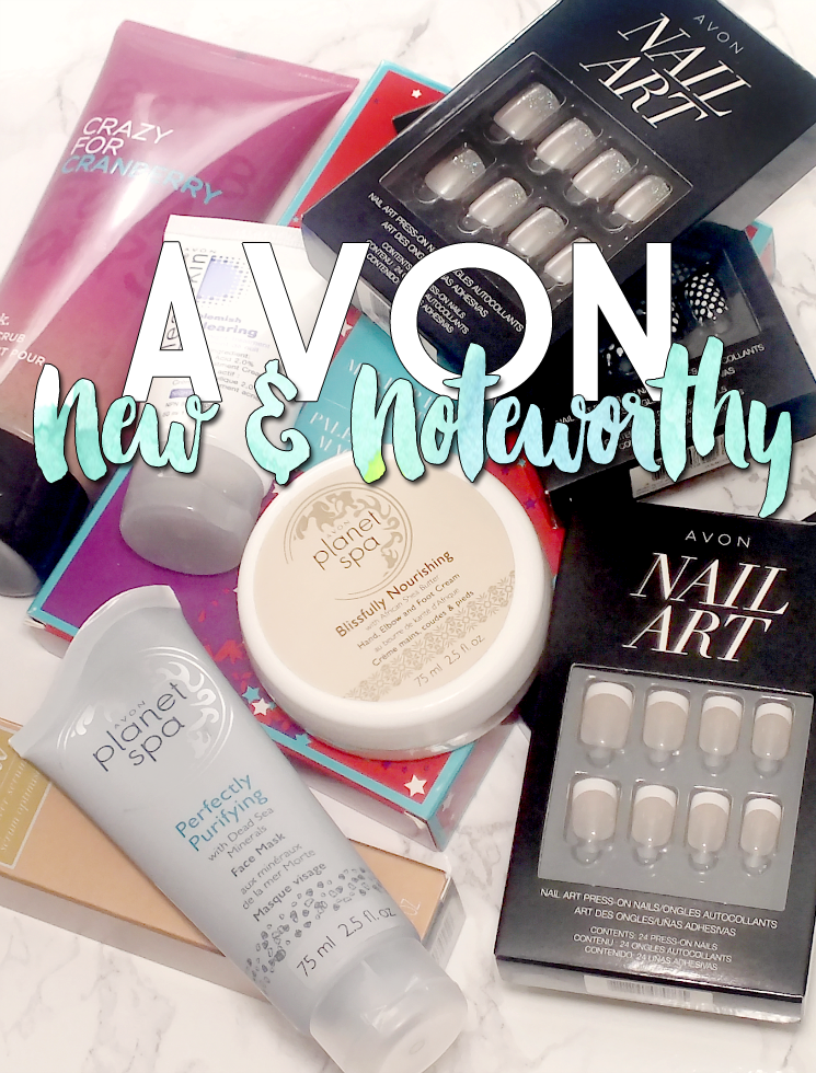 Avon New & Noteworthy