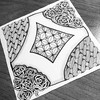 More art therapy #zentangle #art #arttherapy #drawing #blackandwhite #penandink #illustration #ink #creative #freehand #handdrawn #zenart #zenhenna #CZT18 #CZT #certifiedzentangleteacher