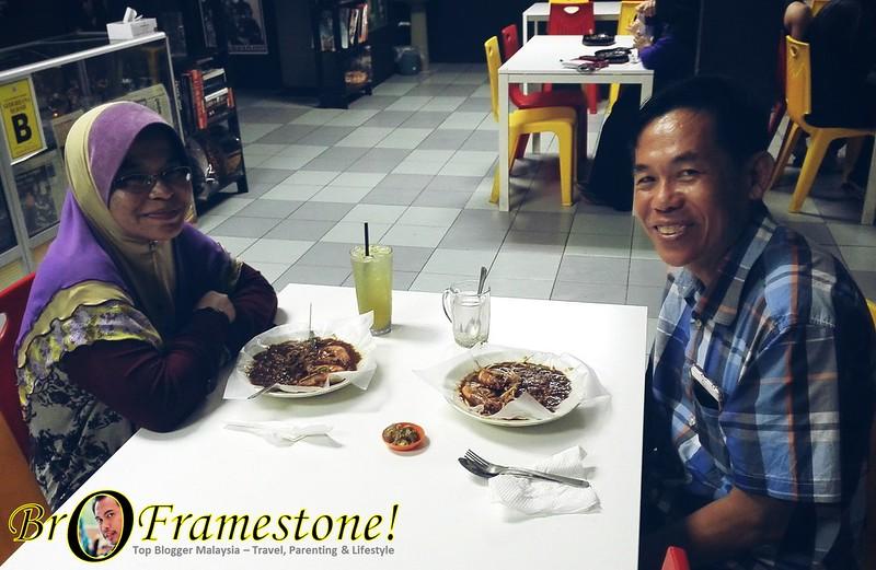Pensyarah UPSI perkena Bro Char Kuey Teow, Tg Malim, Perak