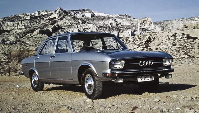 Первая Audi 100. 1968 год