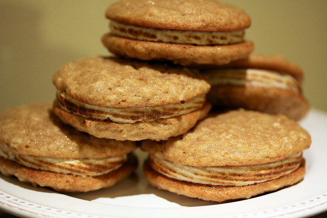 Oatmeal Maple Whoopie Pies - 26