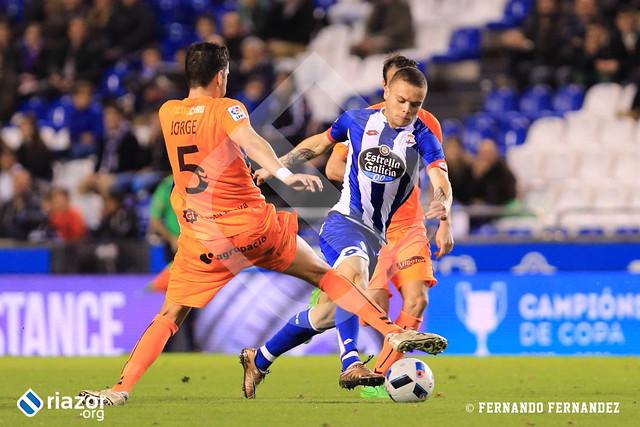 Copa del Rey. 1/16 vuelta. Deportivo - Llagostera