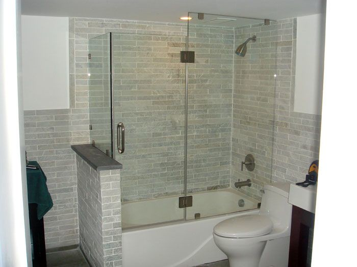 clawfoot tub glass shower enclosure. Frameless Bathtub Enclosures  Glass and Mirror Depot