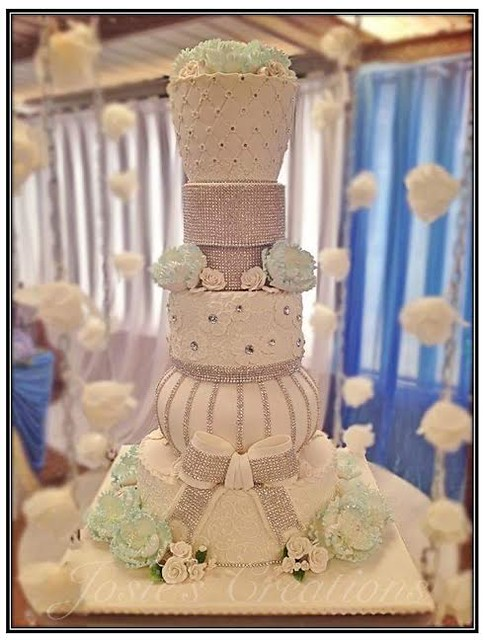 Wedding Cake by Josephine Camarata of Josie's Creations Cake Design