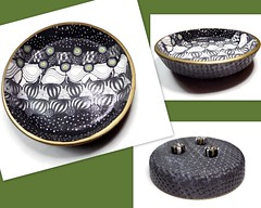 polymer clay Jewelry Dish
