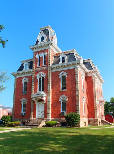 mountgilead morrowcounty ohio village downtown jail secondempire historic nrhp nationalregisterofhistoricplaces
