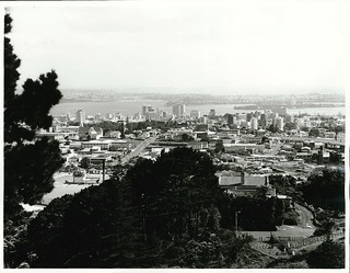 Downtown Auckland from Mount Eden