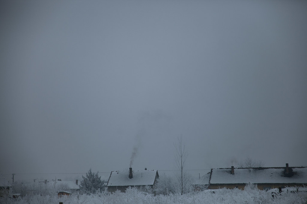 Smog in Sajoszentpeter