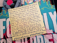 Sticky note review beautiful music for ugly children