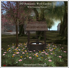 DD Romantic Well Garden Vendor