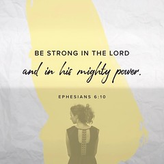 """Finally, be strong in the Lord and in the strength of his might."" Ephesians ‭6:10‬ ‭ESV‬ #Amen #graceunlimited2017"