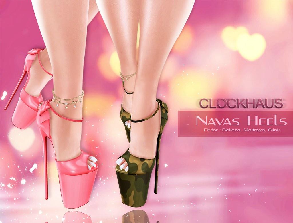 Navas Heels EXCLUSIVE for AnyBODY - SecondLifeHub.com