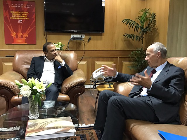WIPO Director General Meets India's Secretary, Department of Industrial Policy and Promotion